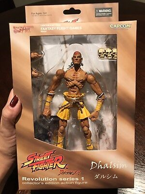 New! Street Fighter Revolution Series 1, Dhalsim Action Figure By SOTA Toys!