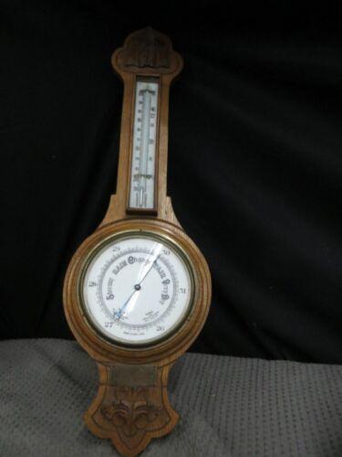 1925 Barometer England Retirement Gift G.W. Whitaker Murrays Road School Douglas
