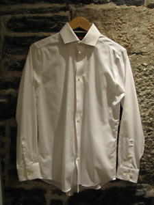 Two Brand New Kenneth Cole White Dress Shirts
