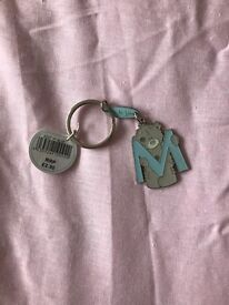 FREE Me to you teddy key ring brand new