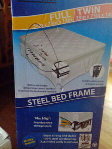Steel Bed Frame Full or Twin