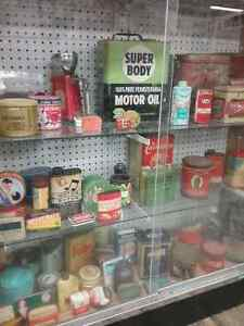 Nostalgia signs, tins license plates plus 600 booths full Peterborough Peterborough Area image 4