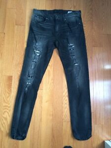 Guess distressed jeans- New