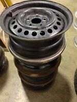 Set of 14 inch rims. 5 bolt