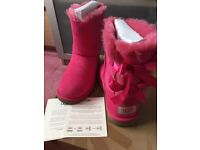 Genuine Bow UGG Boots