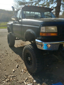 1996 f150 with dana 60's lifted on 37s, looking for sports car