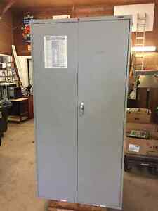 Metal Storage Cabinet - Approx. 6'x3'x1.5'