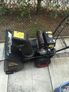 5.5 HP 2 Stage Gas Snow blower