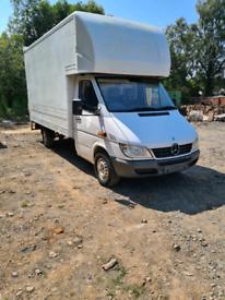 Y reg Mercedes-Benz Luton box van spares or repair