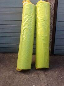 2 Rolls 7mm PU Carpet Underlay