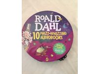 Roald Dahl 10 cd books never used