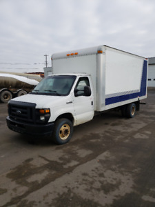 2008 Ford E450 cube van for sale