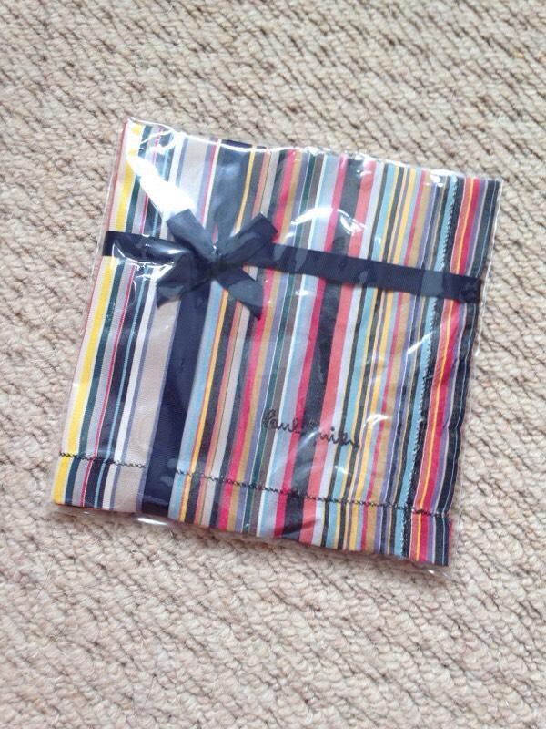 Paul Smith stripe handkerchief in Long Eaton  : 86 from www.gumtree.com size 600 x 800 jpeg 99kB