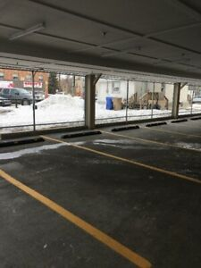enclosed downtown parking $150.00 monthly