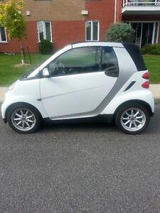 2008 Smart Fortwo gris Cabriolet