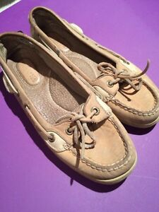Sperry's leather shoes