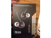 RHA T20i black for sale!! Brand new!!