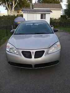 2006 Pontiac G6 Berline négociable!!