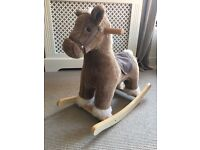 Mamas and papas rocking horse with sound