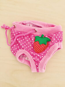 Couche culotte Taille S pour chien //Neuf