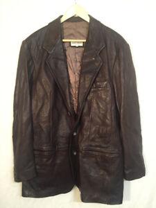 Giorgio Armani - Brown Leather Jacket