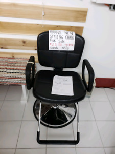 Hair stylist chair brand new