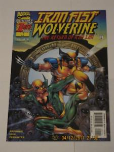 Marvel Comics Iron Fist Wolverine#'s 1,2,3 & 4 set! comic book