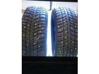 2x 205/55/R16 winter tyres