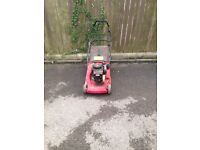 Petrol lawnmower for sale spares or repair.