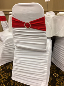 White Chair Cover Rentals For Your Special Event