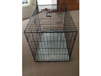 Fold flat Small dog or puppy cage in excellent condition