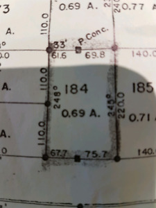 Large residential lot( 0.69 acres) in Porter Creek