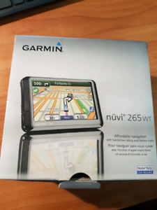Garmin Nuvi 265WT with Red Light / Speed change zone features
