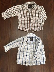 6-9 Month Boys H&M dress shirts