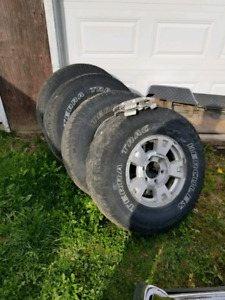 2004 gmc canyon wheels