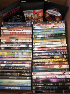 53 DVD Movies ALL for 8 Dollars Only