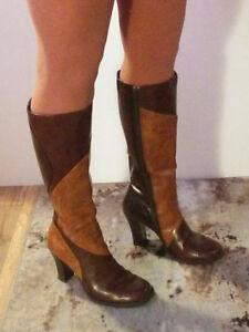 Size 8 - 8.5  -  tall boots and booties