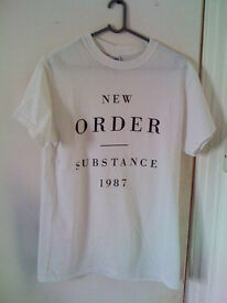 New Order, Substance 1987 T-shirt (small)