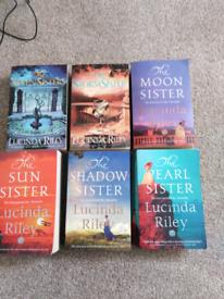 Lucinda Riley 6 book 'Sister' collection