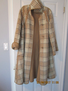 Wool Reversible Coat