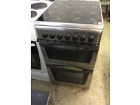 Indesit Slim Stainless Steel Electric Cooker