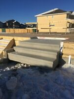 20% Off Precast Concrete Custom Steps