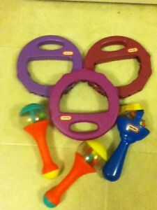 Various Toddler Music Noise Makers
