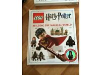LEGO BOOKS - Harry Potter & Star Wars + EXCLUSIVE FIGURES