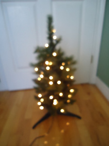 Holiday Collection Two Foot Lighted Pixie Dust Christmas Tree