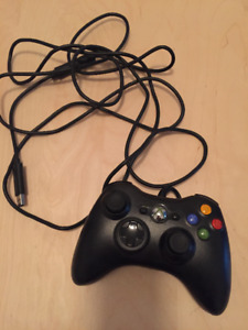 PC-MANETTE FIL/WIRED CONTROLLER-NOIR/BLACK (EXCELLENT ÉTAT)