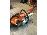 Stihl ts410 petrol cutter