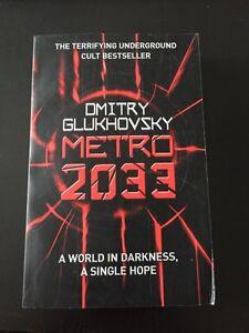 Metro 2033 by Dmitry Glukhovsky Kitchener / Waterloo Kitchener Area image 1