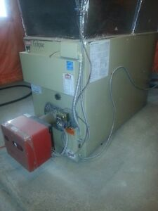 fantastic running oil furnace.