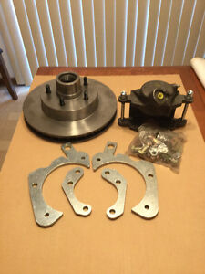 Disc brake conversion kit for 69 to 71 caprice and impala.